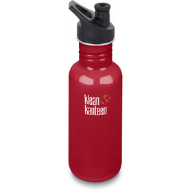 Klean Kanteen Classic Bottle Sport Cap 532ml Mineral Red